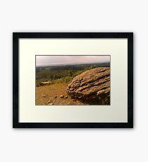 Overlook Framed Print