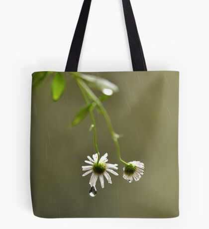 I'll do my crying in the rain ~ Tote Bag