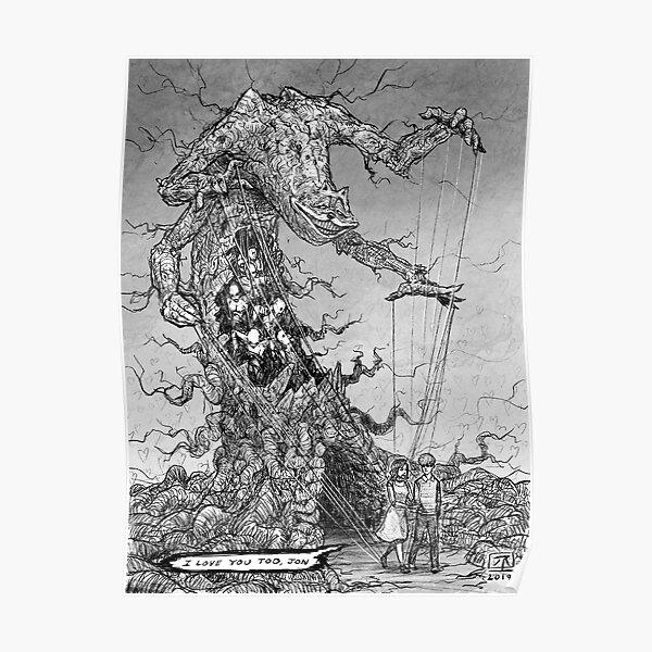 Tender Gorefield, The Puppeteer Poster