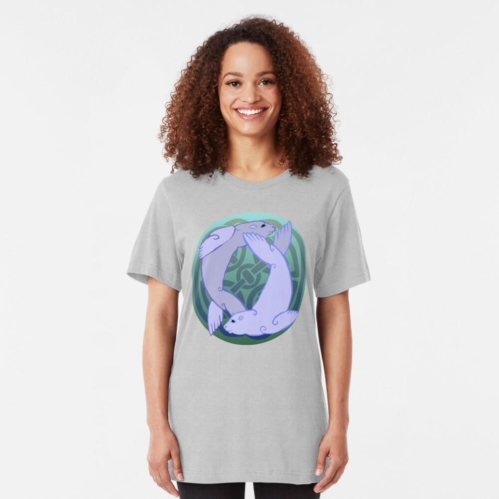 Morloi | Seals Slim Fit T-Shirt