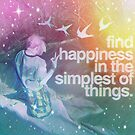 Find happiness by PandJcreations