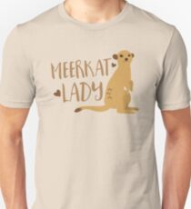 Meerkat Lady Slim Fit T-Shirt