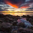 Sunrise Near Soldiers Rocks, Blackmans Bay, Tasmania #7 by Chris Cobern