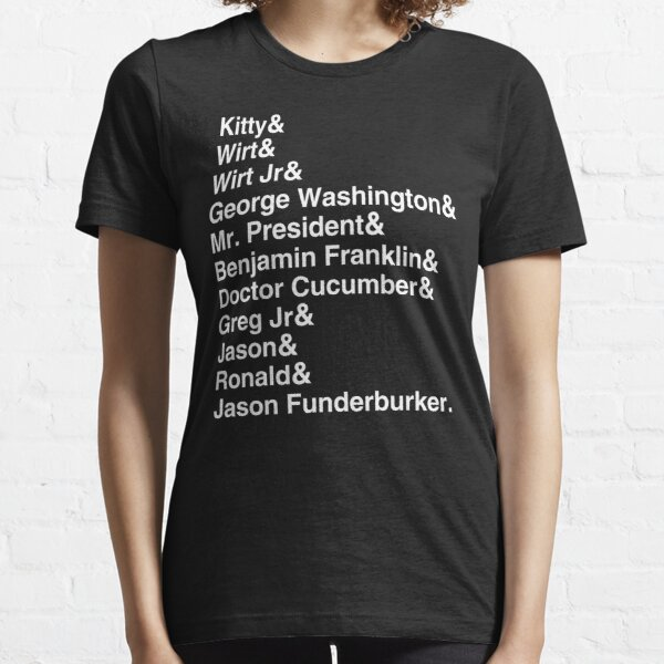 Frog Names Essential T-Shirt