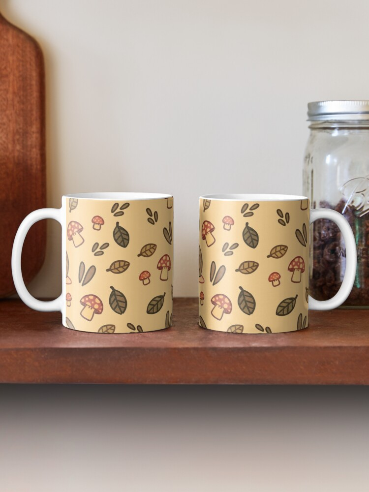 Alternate view of Snail, Mushrooms and Leaves  Mug