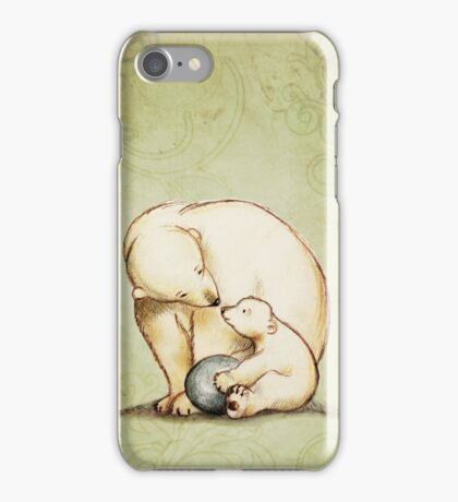 Mother and Cub iPhone Case/Skin