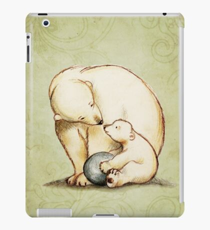 Mother and Cub iPad Case/Skin