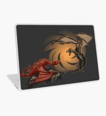 Alduin vs. smaug Laptop Skin