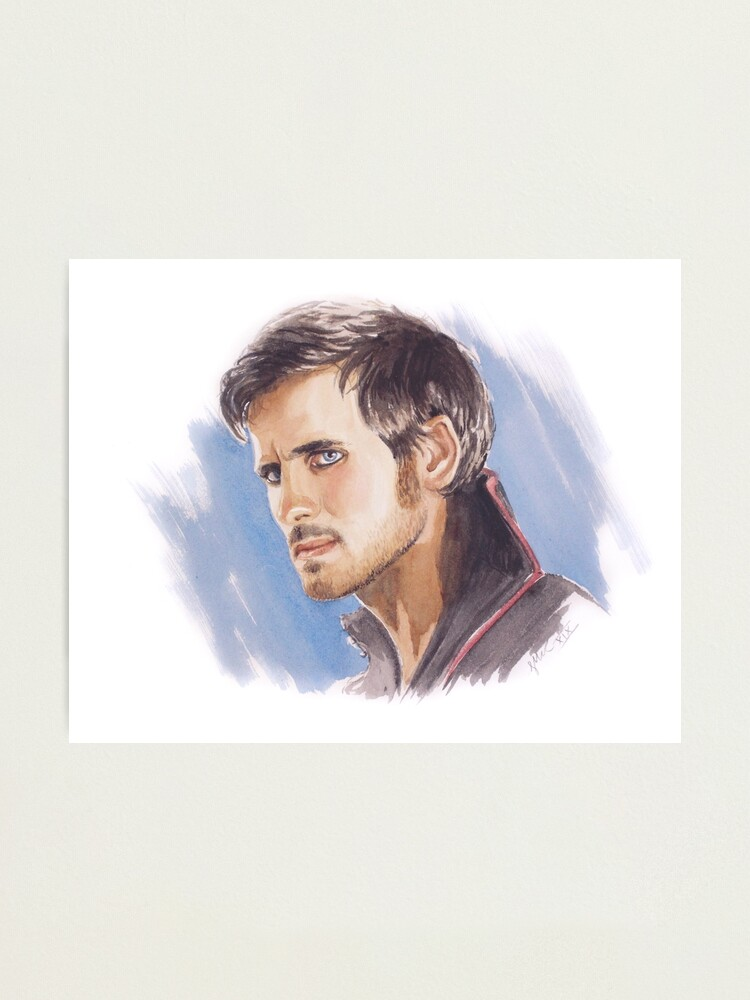 Alternate view of Hook Photographic Print