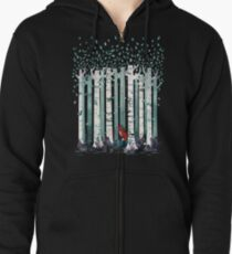The Birches Zipped Hoodie