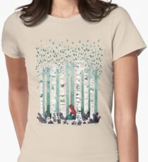 The Birches Womens Fitted T-Shirt