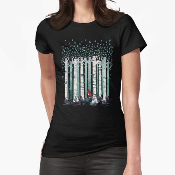 The Birches Fitted T-Shirt