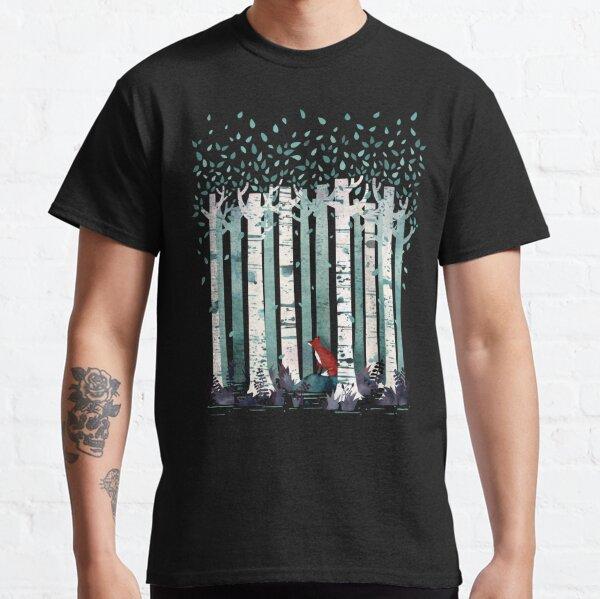 Los abedules Camiseta clásica