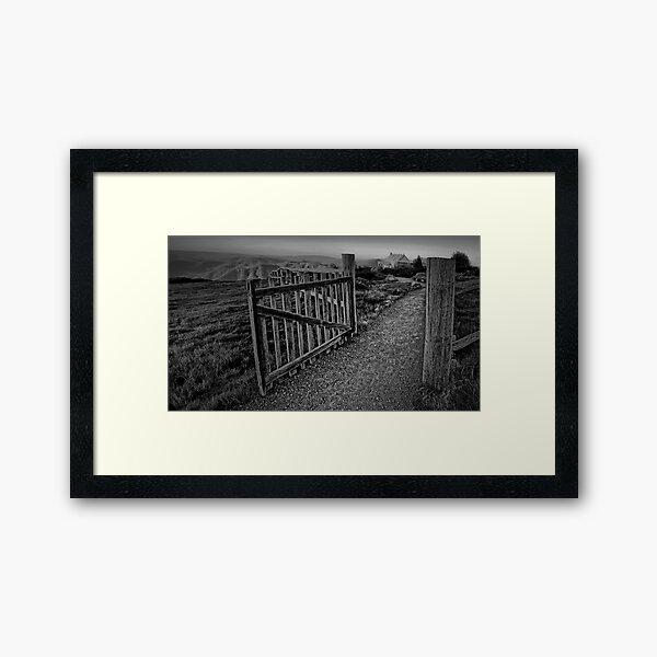 Craig's Path Framed Art Print
