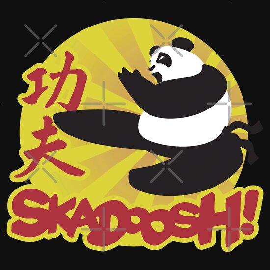 TShirtGifter presents: Skadoosh - I know Kung Fu