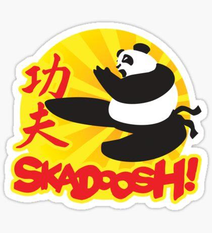 Skadoosh - I know Kung Fu Sticker