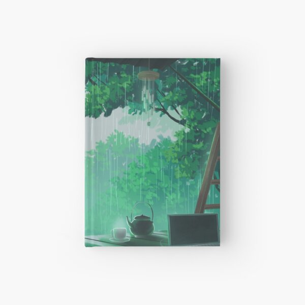 a peaceful storm Hardcover Journal