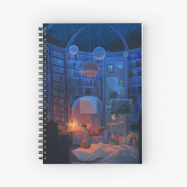 celestial beings Spiral Notebook