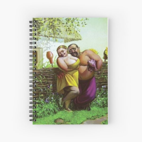 #Shirtless, #people, #child, #family, outdoors, adult, flower, nature, togetherness, baby, basket, group, relaxation, happiness, son, women, men, love Spiral Notebook