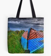Holy Island Upsidedown Boat Tote Bag