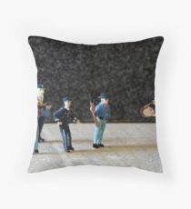 The Hailey Police Department learns their lesson after purchasing a battering ram on eBay. Throw Pillow