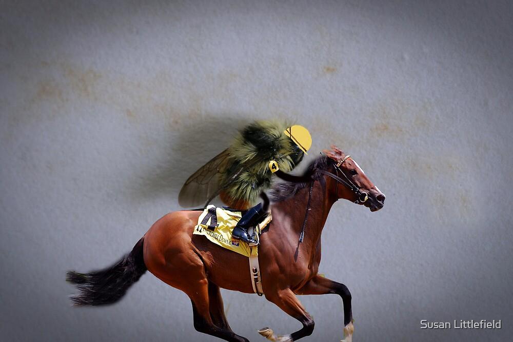 Kentucky Derbee by Susan Littlefield