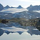 Sognefjell (Norway) reflected by Arie Koene