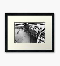 Levers Framed Print