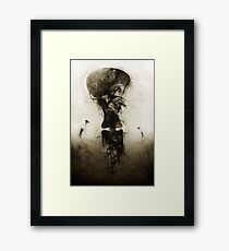 Dweller of the Invisible Framed Print