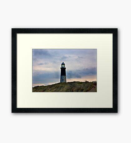 Spurn Head Lighthouse. Framed Print