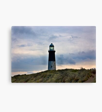 Spurn Head Lighthouse. Canvas Print