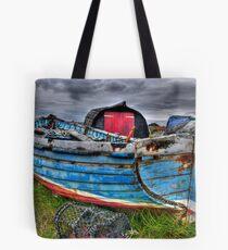 Worn Old Boat Tote Bag