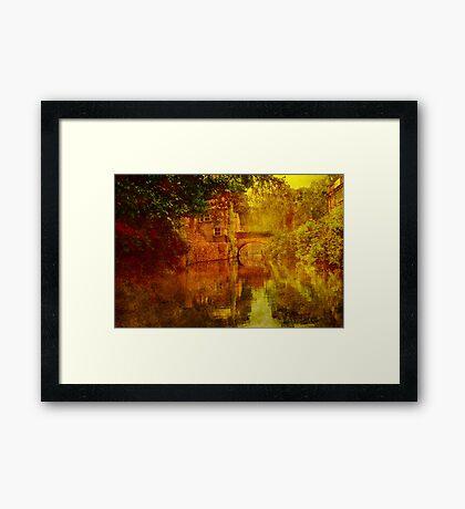 Le Bridge Framed Print