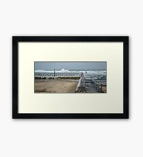 Merewether Ocean Baths Framed Print