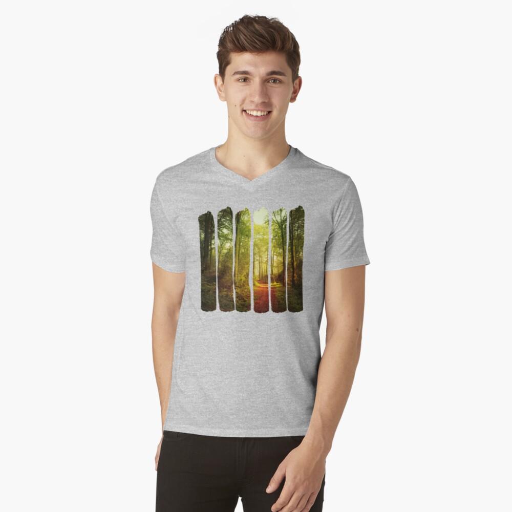 October Forest V-Neck T-Shirt