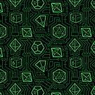 Tech D20 Pattern [Grün] von MaratusFunk