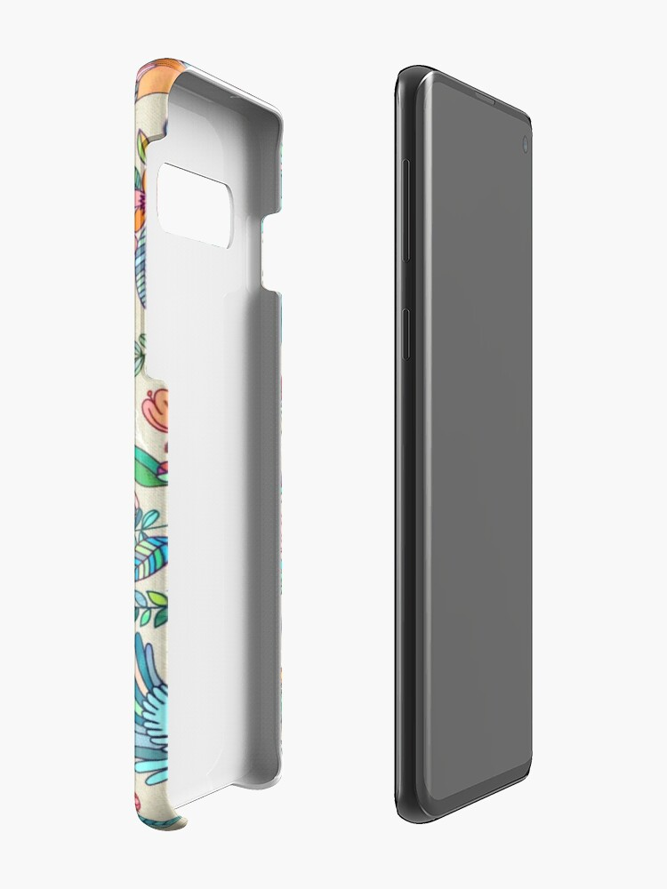 Alternate view of Whimsical Summer Flight Cases & Skins for Samsung Galaxy