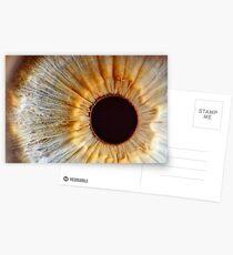 Galaxy eye Postcards