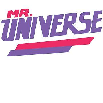 Steven Universe - Mr. Universe by missarrowette