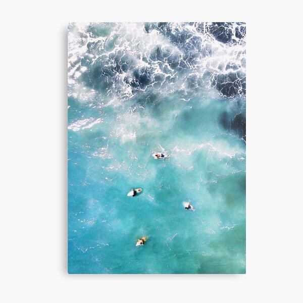 Aerial Ocean Photography Metal Print