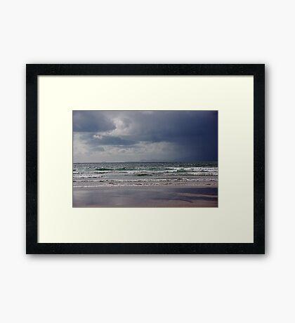 Storm over Dingle Bay, Kerry, Ireland 2 Framed Print