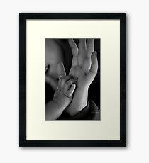 I love You Mommy Framed Print