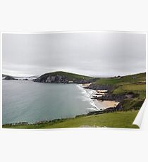 The End of Europe,  Dunquin, Kerry, Ireland Poster