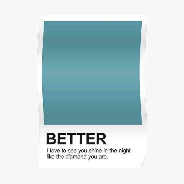 Better Pantone Poster