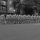 Military on Parade, during 2005 SeaFair by Carlanne