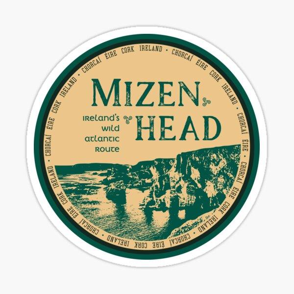 Mizen head, County Cork, Ireland T-Shirt + Sticker 1 Sticker