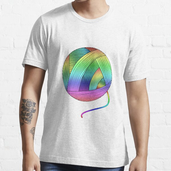 Rainbow Yarn Ball! Essential T-Shirt