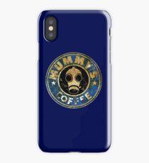 MUMMY'SCOFFEE VINTAGE VERSION iPhone Case/Skin