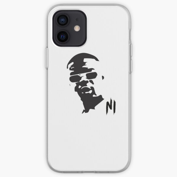 Ninho black and white Coque souple iPhone