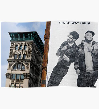 SINCE WAY BACK Poster